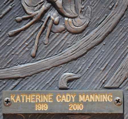 MANNING, KATHERINE CADY - Maricopa County, Arizona | KATHERINE CADY MANNING - Arizona Gravestone Photos