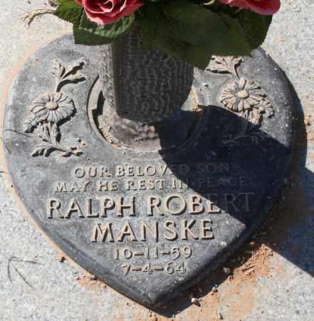 MANSKE, RALPH ROBERT - Maricopa County, Arizona | RALPH ROBERT MANSKE - Arizona Gravestone Photos