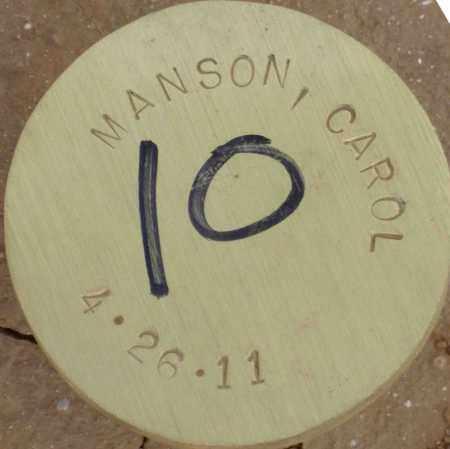 MANSON, CAROL - Maricopa County, Arizona | CAROL MANSON - Arizona Gravestone Photos