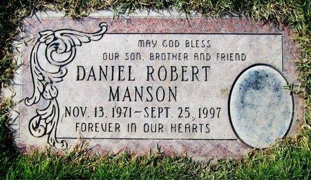 MANSON, DANIEL ROBERT - Maricopa County, Arizona | DANIEL ROBERT MANSON - Arizona Gravestone Photos