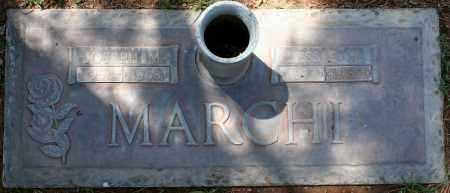 MARCHI, BESSIE V. - Maricopa County, Arizona | BESSIE V. MARCHI - Arizona Gravestone Photos