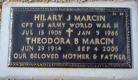 MARCIN, THEODORA B. - Maricopa County, Arizona | THEODORA B. MARCIN - Arizona Gravestone Photos