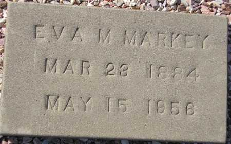 MARKEY, EVA M. - Maricopa County, Arizona | EVA M. MARKEY - Arizona Gravestone Photos
