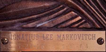 MARKOVITCH, IGNATIUS LEE - Maricopa County, Arizona | IGNATIUS LEE MARKOVITCH - Arizona Gravestone Photos