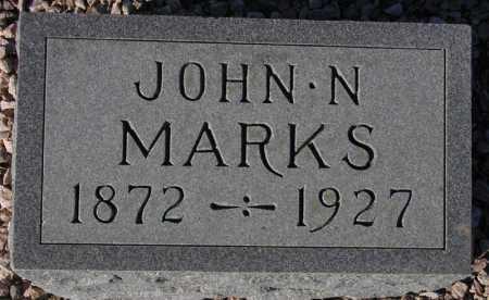 MARKS, JOHN N. - Maricopa County, Arizona | JOHN N. MARKS - Arizona Gravestone Photos