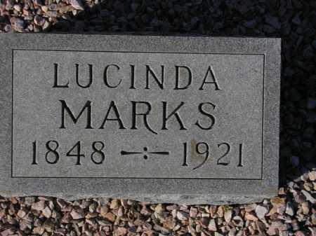 MARKS, LUCINDA - Maricopa County, Arizona | LUCINDA MARKS - Arizona Gravestone Photos