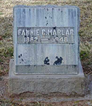 MARLAR, FANNIE C. - Maricopa County, Arizona | FANNIE C. MARLAR - Arizona Gravestone Photos