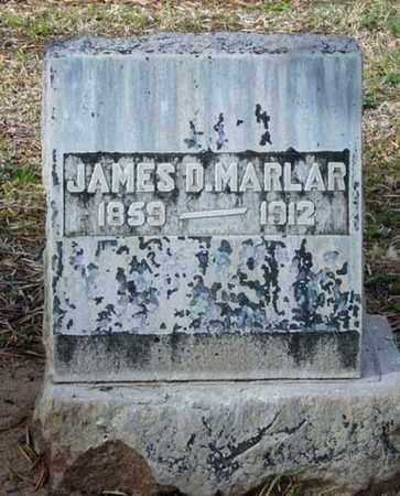 MARLAR, JAMES D. - Maricopa County, Arizona | JAMES D. MARLAR - Arizona Gravestone Photos