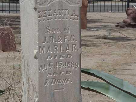 MARLAR, LELAND A - Maricopa County, Arizona | LELAND A MARLAR - Arizona Gravestone Photos