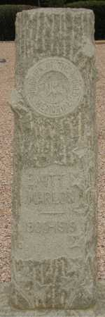 MARLOW, EMITT - Maricopa County, Arizona | EMITT MARLOW - Arizona Gravestone Photos