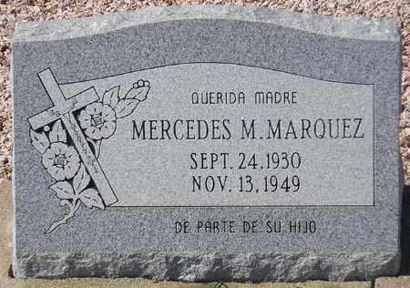 MARQUEZ, MERCEDES M. - Maricopa County, Arizona | MERCEDES M. MARQUEZ - Arizona Gravestone Photos