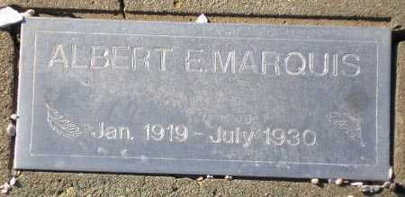 MARQUIS, ALBERT E. - Maricopa County, Arizona   ALBERT E. MARQUIS - Arizona Gravestone Photos