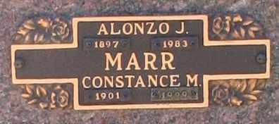 MARR, ALONZO J - Maricopa County, Arizona | ALONZO J MARR - Arizona Gravestone Photos