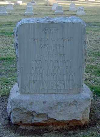 MARSH, GRACE E. - Maricopa County, Arizona | GRACE E. MARSH - Arizona Gravestone Photos