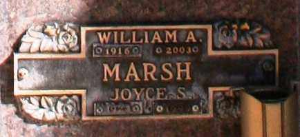 MARSH, WILLIAM A - Maricopa County, Arizona | WILLIAM A MARSH - Arizona Gravestone Photos
