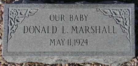MARSHALL, DONALD L. - Maricopa County, Arizona | DONALD L. MARSHALL - Arizona Gravestone Photos