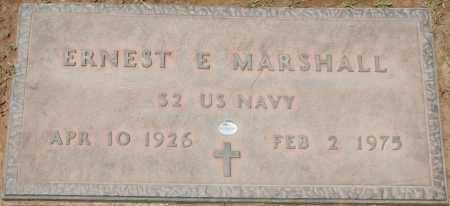 MARSHALL, ERNEST E. - Maricopa County, Arizona | ERNEST E. MARSHALL - Arizona Gravestone Photos