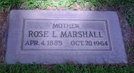 MARSHALL, ROSE LEE - Maricopa County, Arizona | ROSE LEE MARSHALL - Arizona Gravestone Photos