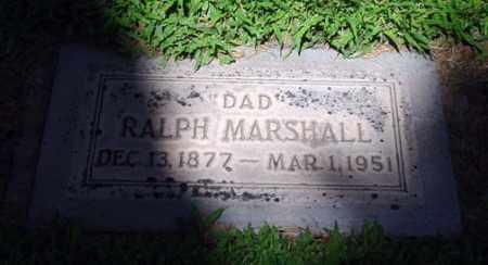 MARSHALL, RALPH L. - Maricopa County, Arizona | RALPH L. MARSHALL - Arizona Gravestone Photos