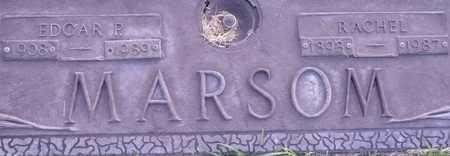 MARSOM, EDGAR P. - Maricopa County, Arizona | EDGAR P. MARSOM - Arizona Gravestone Photos