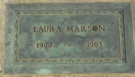 MARSON, LAURA - Maricopa County, Arizona | LAURA MARSON - Arizona Gravestone Photos