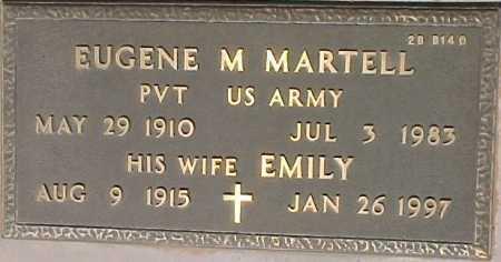 MARTELL, EUGENE M. - Maricopa County, Arizona | EUGENE M. MARTELL - Arizona Gravestone Photos