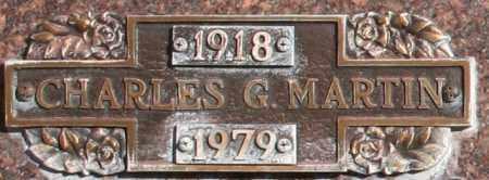 MARTIN, CHARLES G - Maricopa County, Arizona | CHARLES G MARTIN - Arizona Gravestone Photos