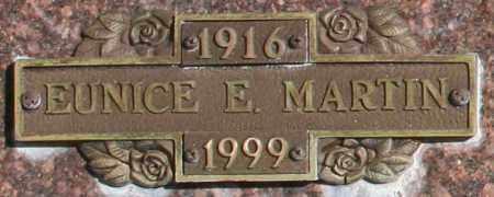MARTIN, EUNICE E - Maricopa County, Arizona | EUNICE E MARTIN - Arizona Gravestone Photos