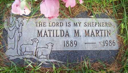 MARTIN, MATILDA M. - Maricopa County, Arizona   MATILDA M. MARTIN - Arizona Gravestone Photos