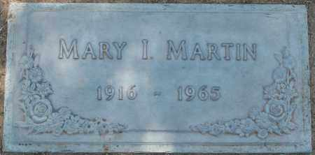 MARTIN, MARY I. - Maricopa County, Arizona | MARY I. MARTIN - Arizona Gravestone Photos