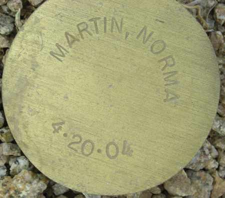 MARTIN, NORMA - Maricopa County, Arizona | NORMA MARTIN - Arizona Gravestone Photos