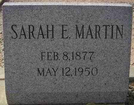 MARTIN, SARAH E. - Maricopa County, Arizona | SARAH E. MARTIN - Arizona Gravestone Photos