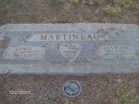 JONES MARTINEAU, STELLA - Maricopa County, Arizona | STELLA JONES MARTINEAU - Arizona Gravestone Photos