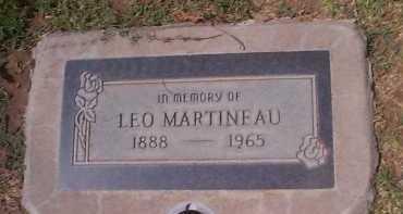 MARTINEAU, LEO - Maricopa County, Arizona   LEO MARTINEAU - Arizona Gravestone Photos