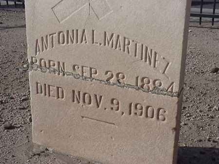 BLANCO MARTINEZ, ANTONIA L - Maricopa County, Arizona   ANTONIA L BLANCO MARTINEZ - Arizona Gravestone Photos