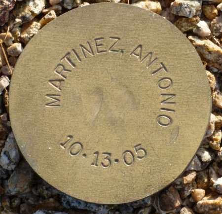 MARTINEZ, ANTONIO - Maricopa County, Arizona   ANTONIO MARTINEZ - Arizona Gravestone Photos