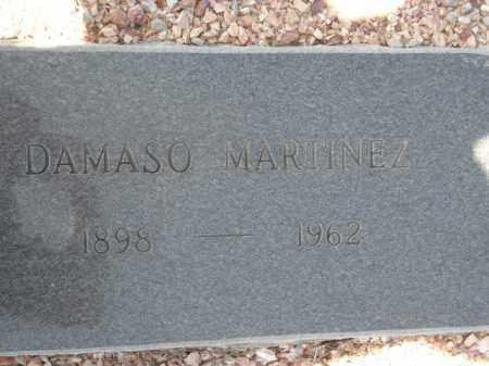 MARTINEZ, DAMASO - Maricopa County, Arizona | DAMASO MARTINEZ - Arizona Gravestone Photos