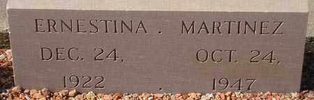 MARTINEZ, ERNESTINA - Maricopa County, Arizona | ERNESTINA MARTINEZ - Arizona Gravestone Photos