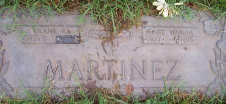 MARTINEZ, FRANK R. - Maricopa County, Arizona   FRANK R. MARTINEZ - Arizona Gravestone Photos