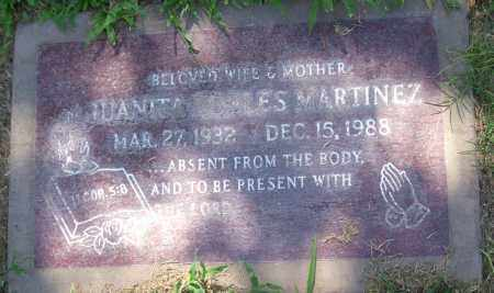 ROBLES MARTINEZ, JUANITA - Maricopa County, Arizona | JUANITA ROBLES MARTINEZ - Arizona Gravestone Photos