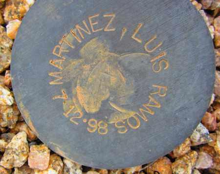 MARTINEZ, LUIS RAMOS - Maricopa County, Arizona   LUIS RAMOS MARTINEZ - Arizona Gravestone Photos