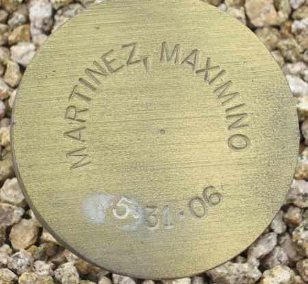 MARTINEZ, MAXIMINO - Maricopa County, Arizona | MAXIMINO MARTINEZ - Arizona Gravestone Photos