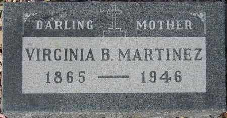 MARTINEZ, VIRGINIA B. - Maricopa County, Arizona   VIRGINIA B. MARTINEZ - Arizona Gravestone Photos