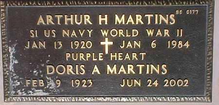 MARTINS, ARTHUR H. - Maricopa County, Arizona | ARTHUR H. MARTINS - Arizona Gravestone Photos
