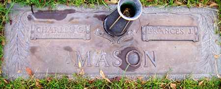 MASON, FRANCES J. - Maricopa County, Arizona | FRANCES J. MASON - Arizona Gravestone Photos