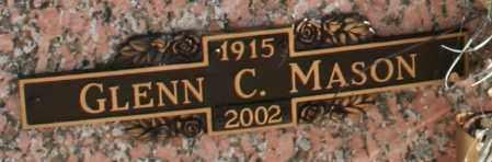 MASON, GLENN C - Maricopa County, Arizona | GLENN C MASON - Arizona Gravestone Photos