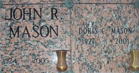 MASON, DORIS C. - Maricopa County, Arizona | DORIS C. MASON - Arizona Gravestone Photos