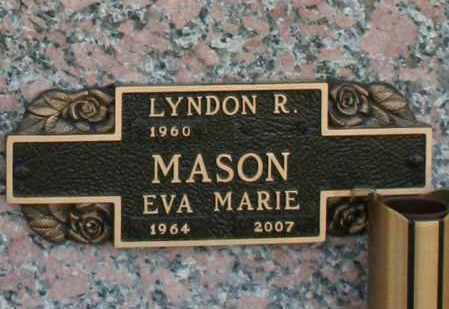 MASON, EVA MARIE - Maricopa County, Arizona | EVA MARIE MASON - Arizona Gravestone Photos