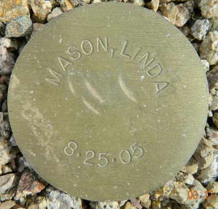 MASON, LINDA - Maricopa County, Arizona | LINDA MASON - Arizona Gravestone Photos