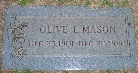 MASON, OLIVE L. - Maricopa County, Arizona   OLIVE L. MASON - Arizona Gravestone Photos